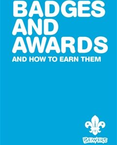 146) Beavers Badge and Awards Book