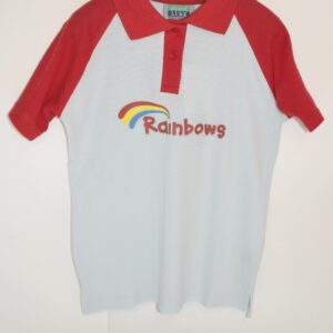 58) Rainbow Polo Shirt