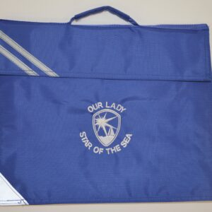 86) Our Lady Book Bag