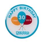 Beaver pin badge